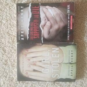APRIL HENRY BOOKS